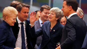 21.03.2019, Bruksela, premier Wielkiej Brytanii Theresa May na szczycie Unii Europejskiej.