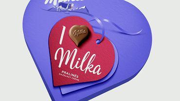 Personalizowane praliny 'I love Milka' - nowy sposób, by w Walentynki podzielić się delikatnością