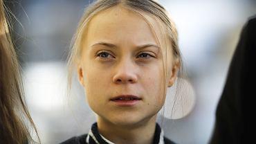 Greta Thunberg na Światowym Forum Ekonomicznym w Davos, 24 stycznia 2020