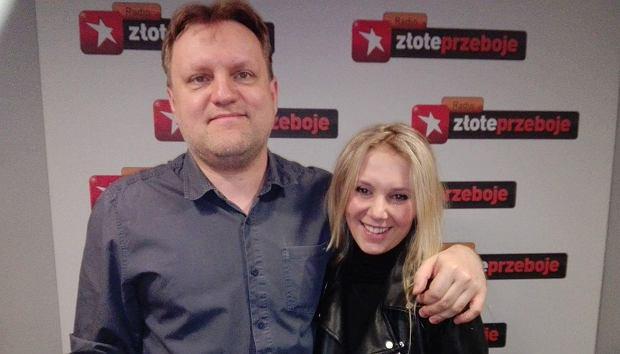 Kuba Mędrzycki i Kasia Moś w programie 'Cała Muzyka'