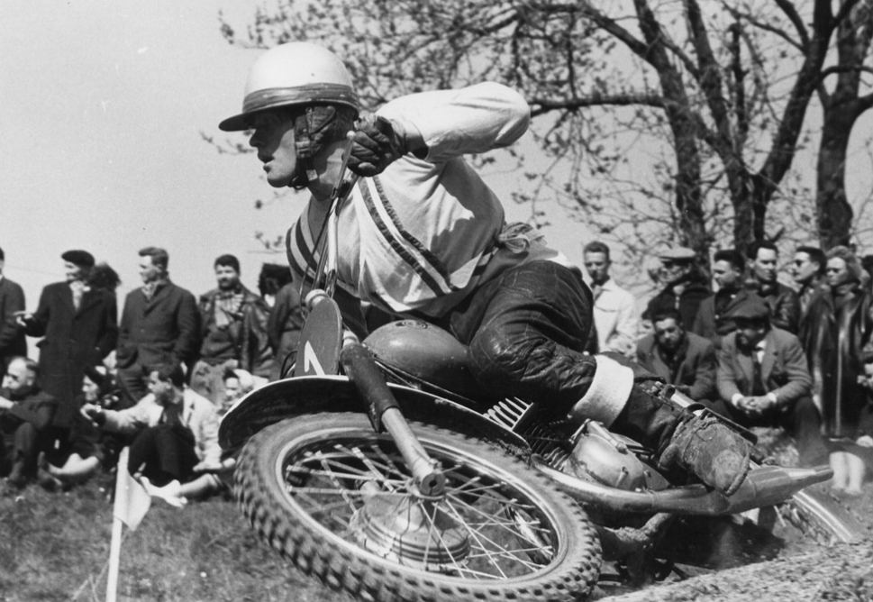 Joel Robert, wielokrotny mistrz świata w motocrossie (zm. 13.01.2021r.). Źródło: Twitter