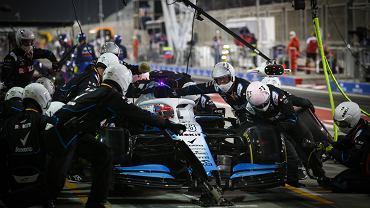 George Russell podczas Grand Prix Bahrajnu