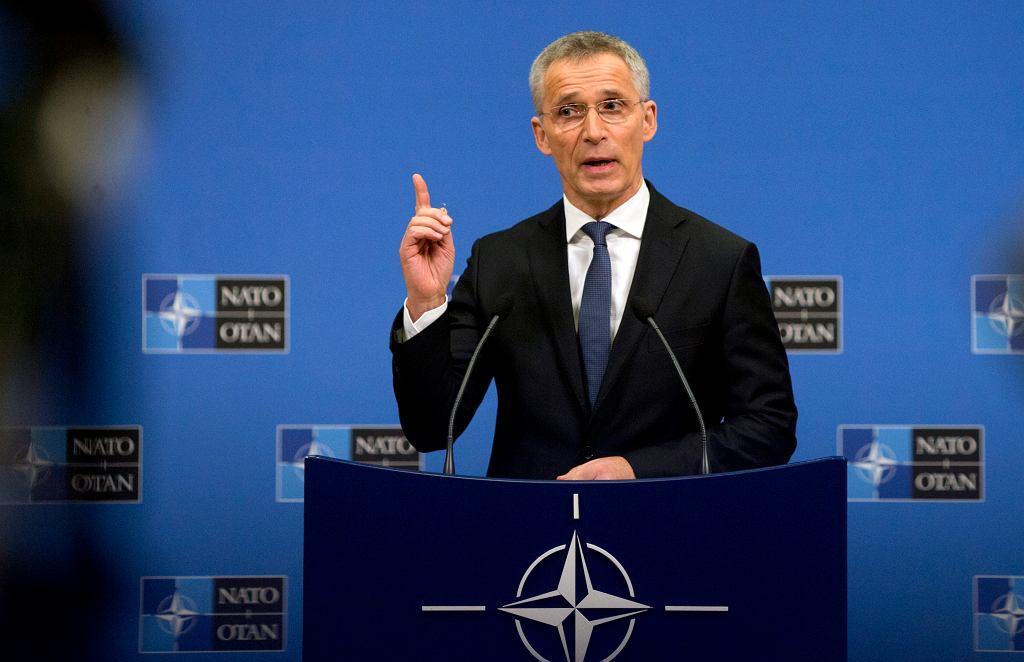 Szef NATO Jens Stoltenberg