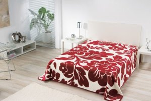 Tkaniny: narzuć na łóżko
