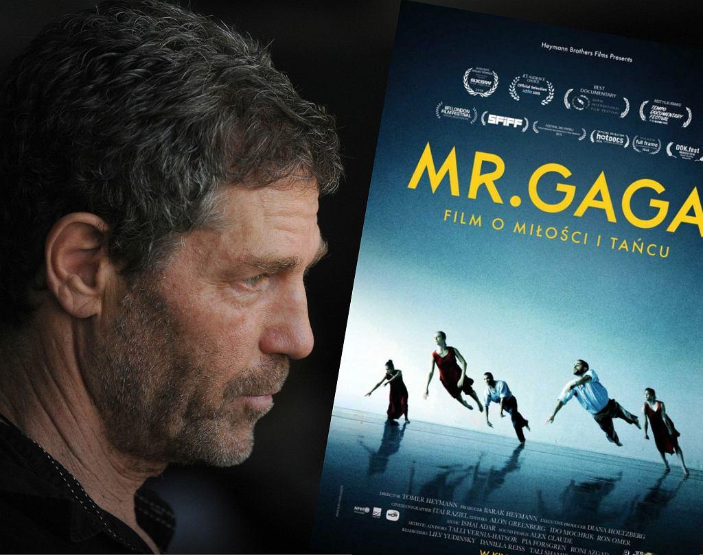 Bohater filmu 'Mr. Gaga' tancerz i choreograf Ohad Naharin