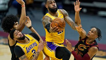 Lakers Cavaliers Basketball