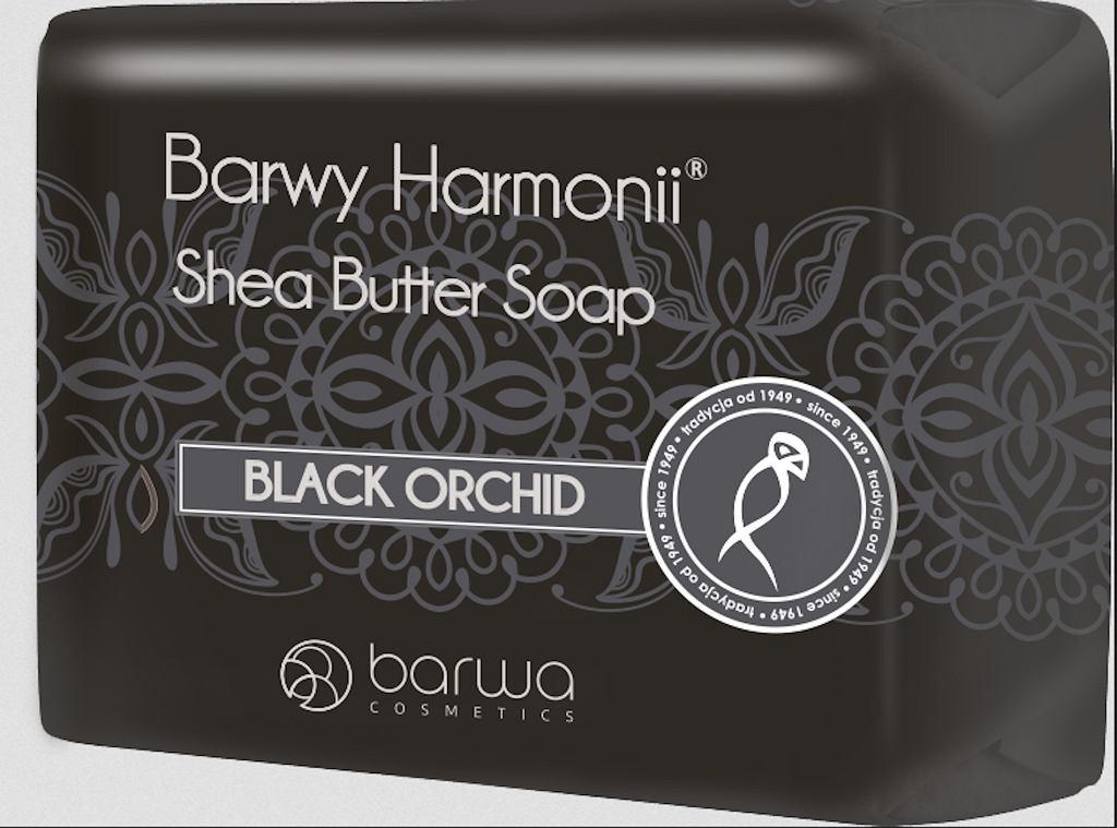 Mydło w kostce BARWA Black Orchid