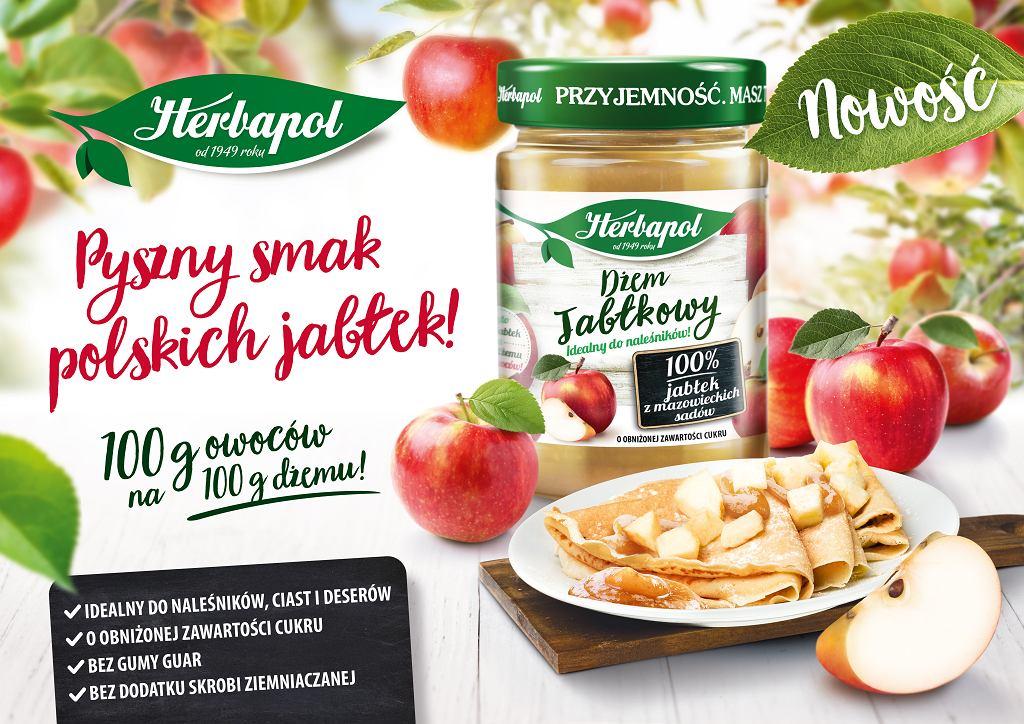 Dżem z jabłek z mazowieckich sadów Herbapol