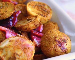 Pieczone ziemniaki curry
