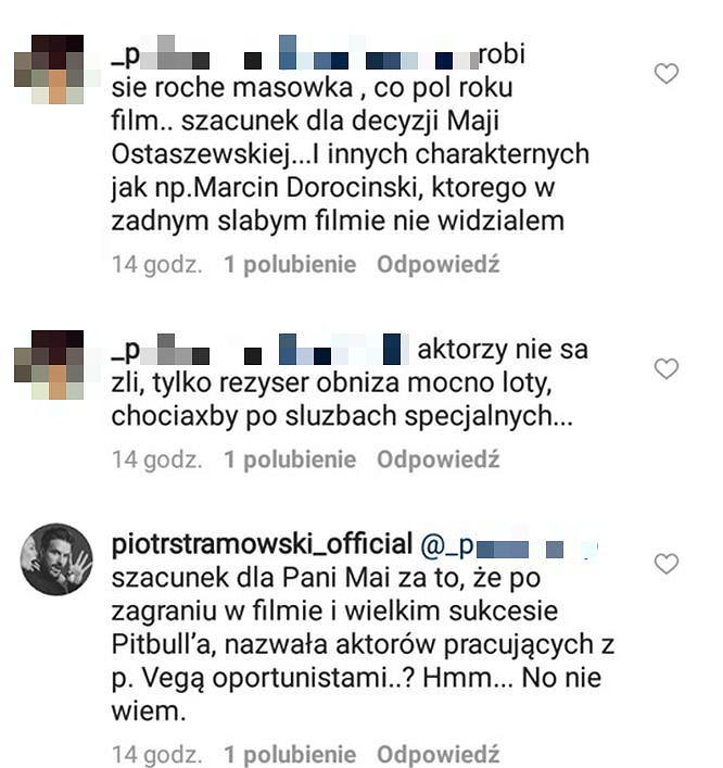 Piotr Stramowski odpowiada fanowi