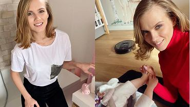 Agnieszka Kaczorowska chętnie pokazuje nowe mieszkanie na Instagramie. Najwięcej zdjęć robi w pokoju Emilki, ale musicie zobaczyć salon