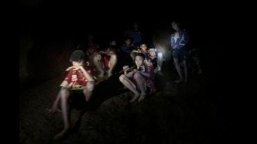 Tajlandia. Chłopcy uwięzieni w jaskini