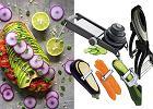 Urządzenia do makaronu z warzyw, mandoliny, tarki i inne - ułatw sobie obróbkę warzyw