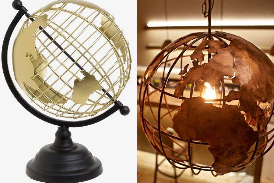 Globus - hit w dekoracji wnętrz