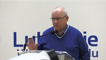 Sejmik lubuski, debata o koronowirusie. Jacek Smykał, kierownik oddziału zakaźnego w Szpitalu Uniwersyteckim w Zielonej Górze