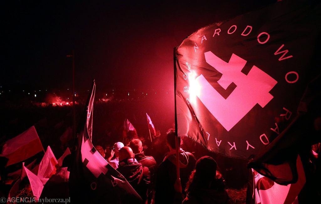 ONR na Marszu Niepodległości (fot. Kuba Atys / Agencja Gazeta)