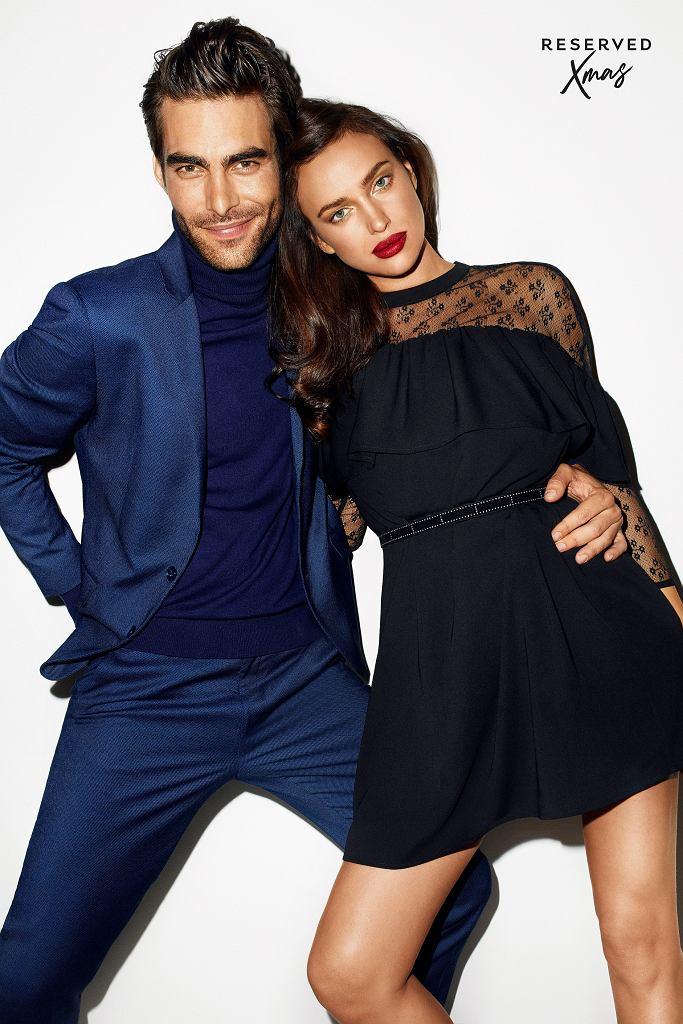 Świąteczna kampania Reserved - Jon Kortajaren i Irina Shayk