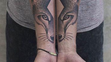 Świetne tatuaże z Berlina: dzieło artysty Valentina Hirscha