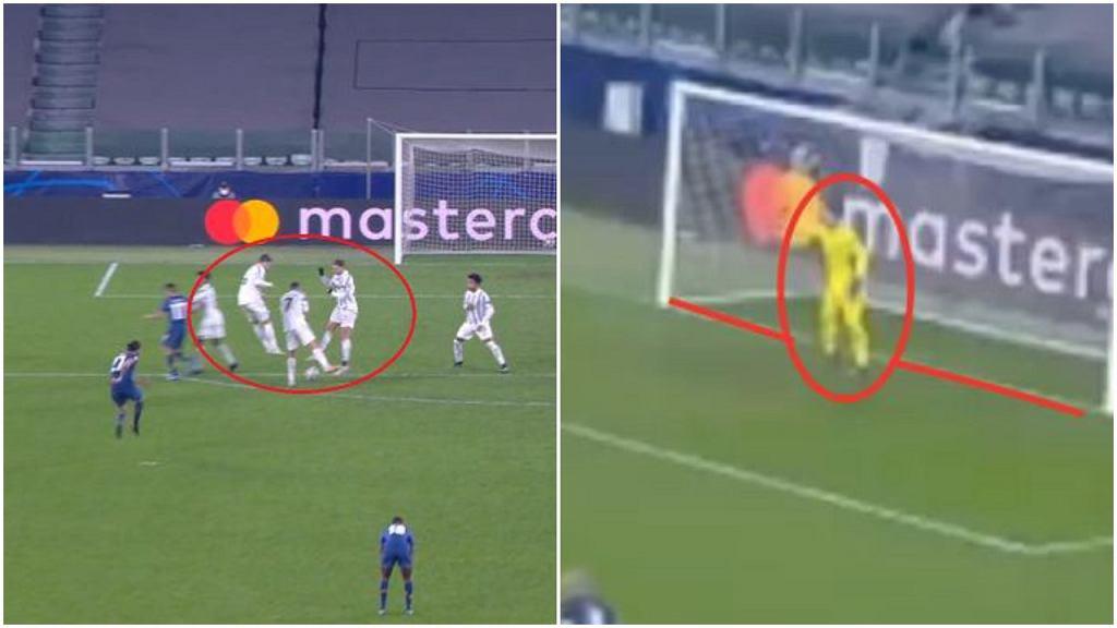 Analiza bramki dla Porto w meczu z Juventusem. Czy Szczęsny popełnił błąd?
