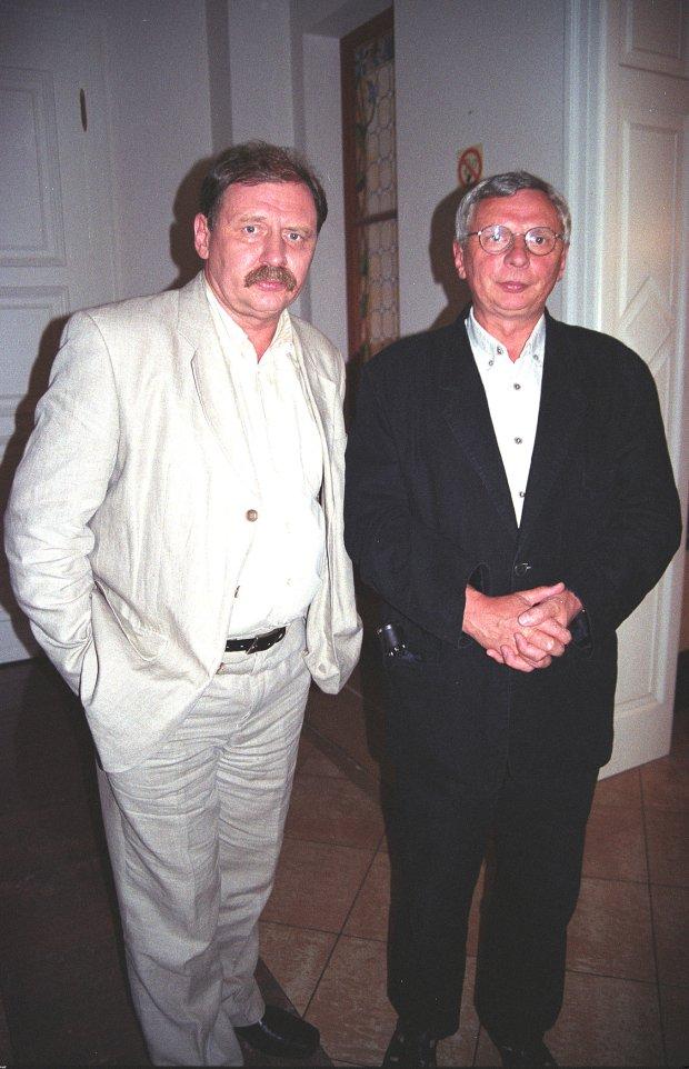 Mikołaj i Andrzej Grabowscy w 2002 roku