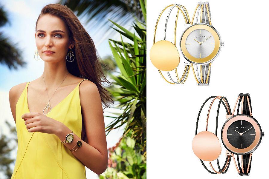 zegarki ze stalową bransoletą