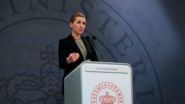 Premierka Danii Mette Frederiksen