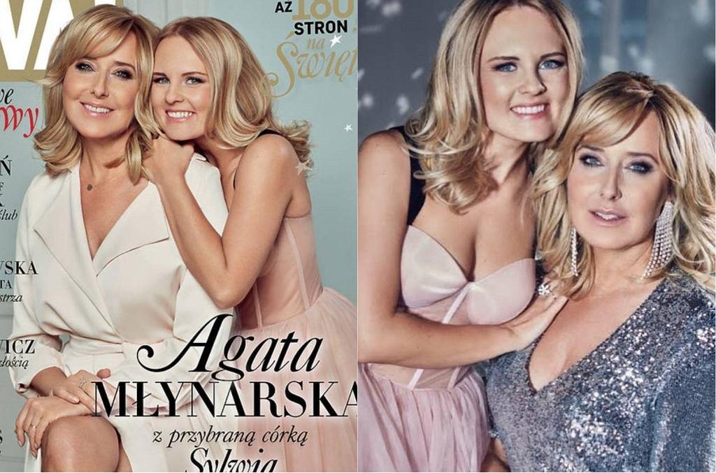 Agata Młynarska i Sylwia Mor
