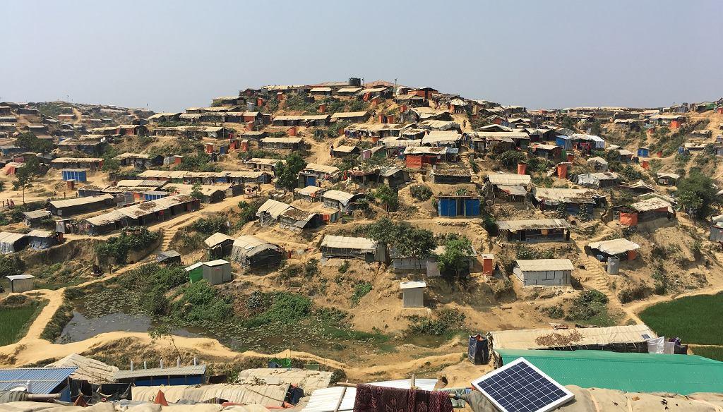 Obozy Rohindżów w Bangladeszu