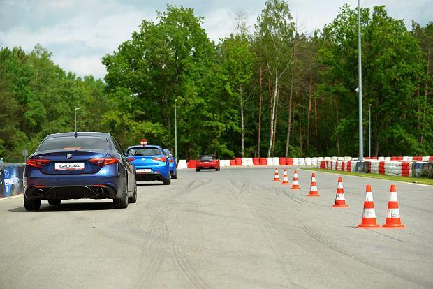 Alfa Romeo, Abarth i Jeep na torze Modlin