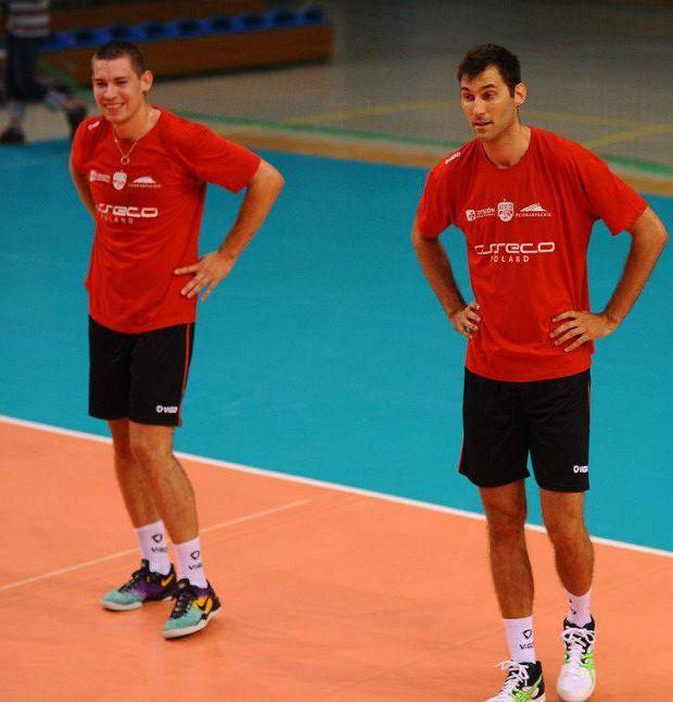 Dawid Konarski i Grzegorz Kosok