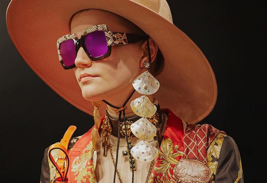 Kapelusz z kolekcji Gucci
