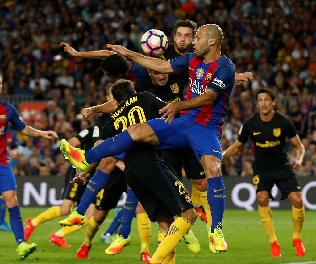 Mecz Barcelona - Atletico.