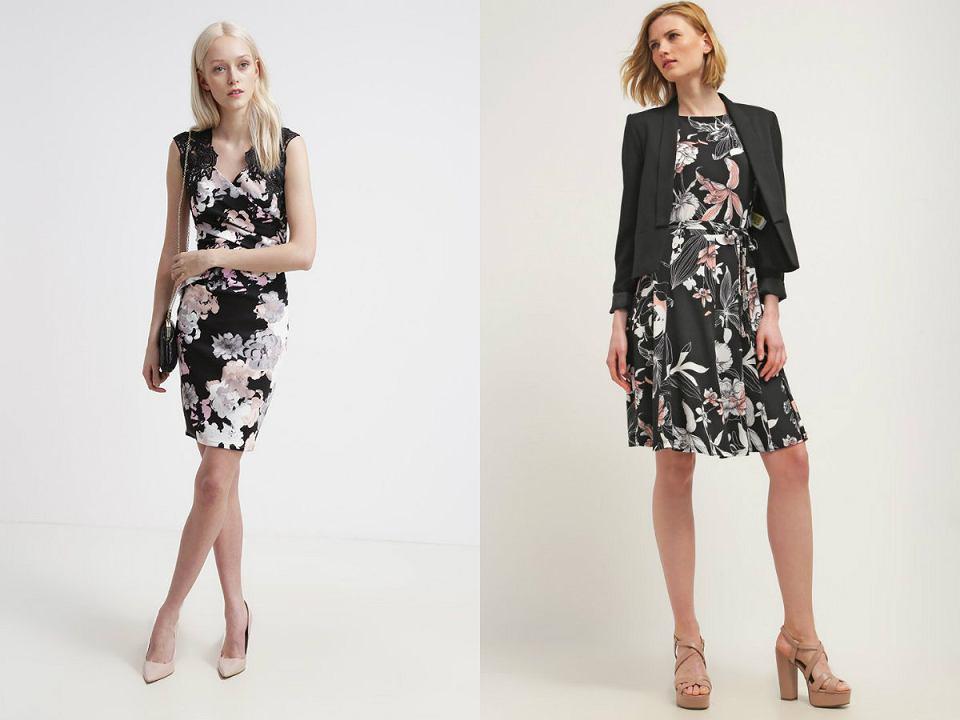 Sukienki w kwiatki do pracy
