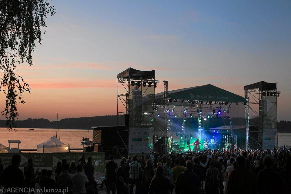Olsztyn Green Festival nad jez. Ukiel