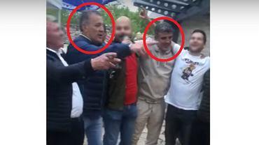 Zdravko Mamić (z lewej) i Zoran Mamić (z prawej)