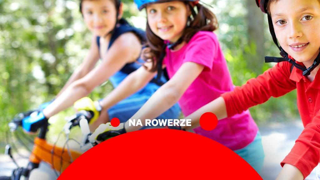 Na rowerze, dziecko na rowerze, cykl rowerowy