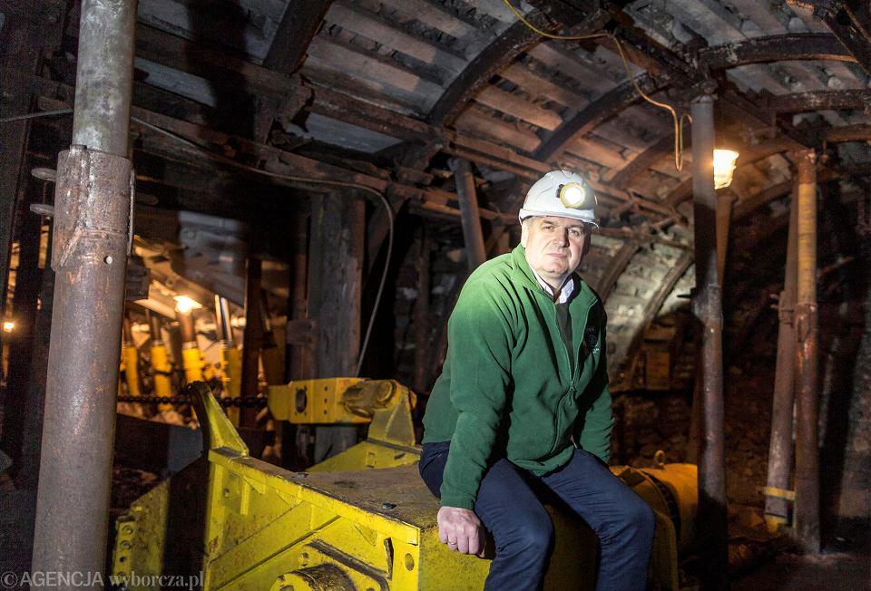 Bogdan Froń, kiedyś był górnikiem w zabrzańskiej kopalni Bielszowice. Dzisiaj jest przewodnikiem w zabytkowej Sztolni Królowa Luiza