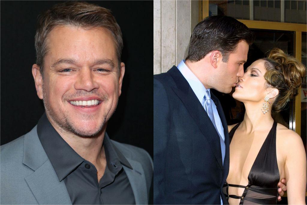 Matt Damon, Jennifer Lopez i Ben Affleck