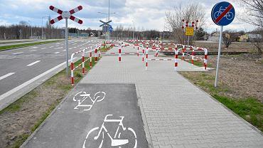 Przykład drogi dla rowerów - Radom