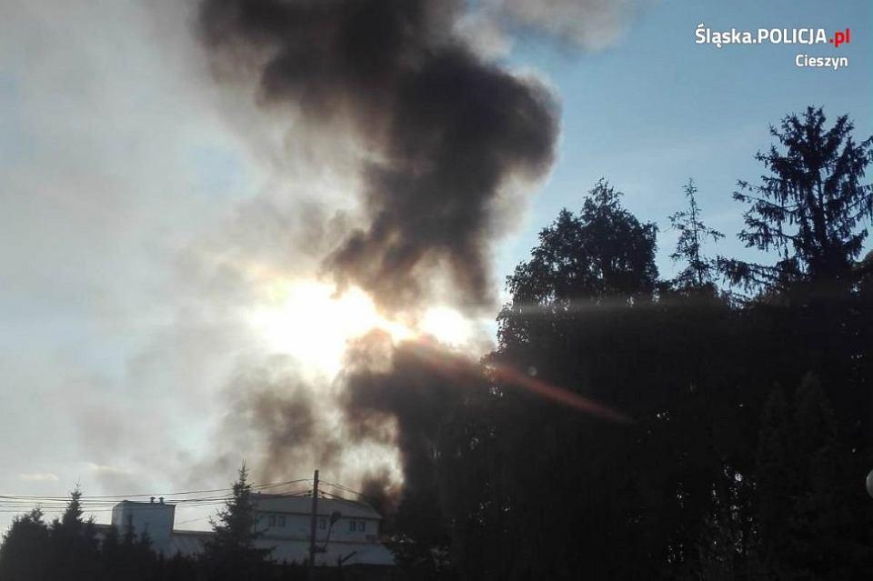 Pożar w Chybiu