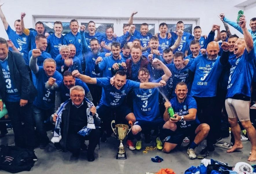 LKS Goczałkowice-Zdrój świętuje awans