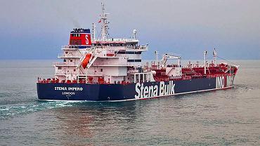 Tankowiec 'Stena Impero'