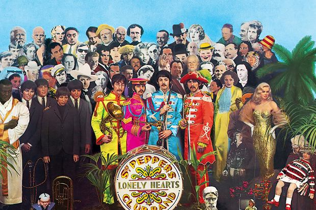 Słynne zdjęcie okładkowe płyty Sgt. Pepper Lonely Hearts Club