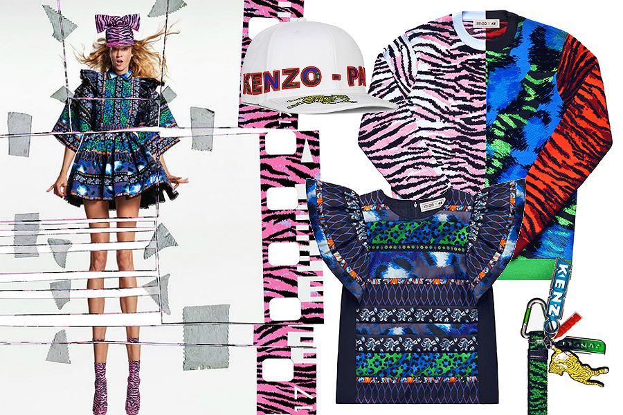 Kolekcja Kenzo dla H&M - zdjęcia i ceny
