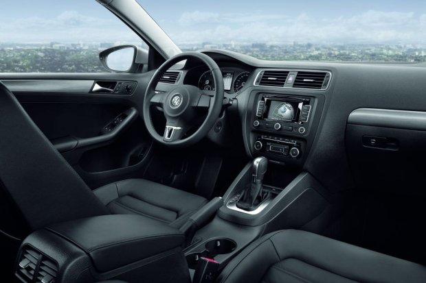 Volkswagen Jetta - wnętrze