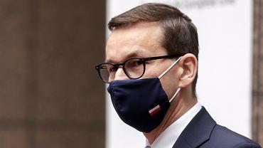 Premier Mateusz Morawiecki o poparciu Porozumienia dla kandydata opozycji na RPO