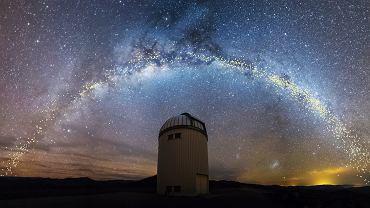 Teleskop Warszawski i cefeidy w Drodze Mlecznej odkryte przez OGLE