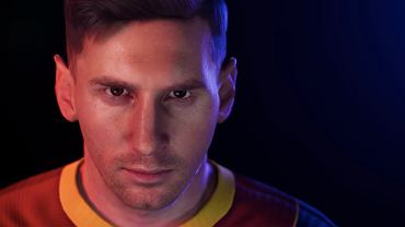 Screenshot filmu promującego aktualizację silnika w Pro Evolution Soccer 2021. Źródło: Konami/YouTube