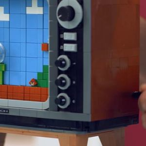 NES z klocków Lego