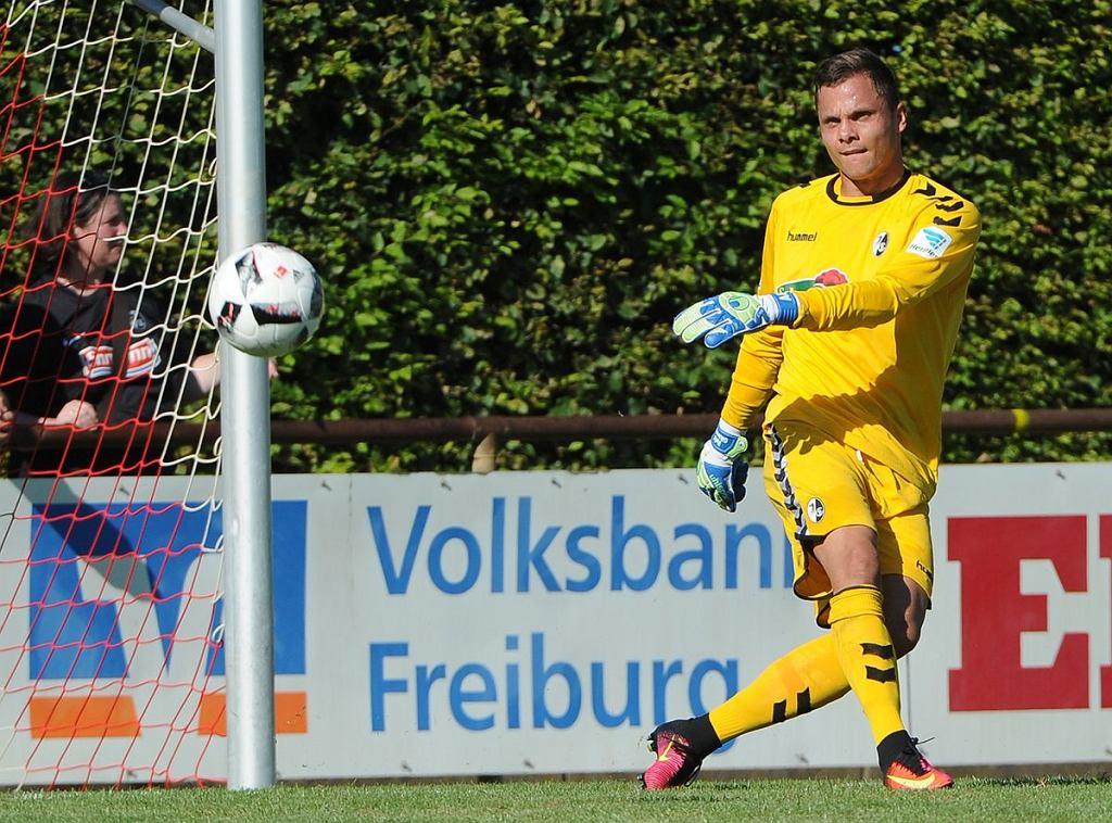Rafał Gikiewicz - bramkarz SC Freiburg